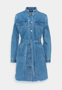 Von Dutch - KYRIE - Denim dress - blue denim - 0