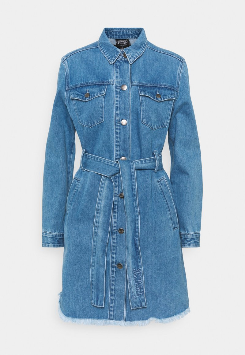 Von Dutch - KYRIE - Denim dress - blue denim