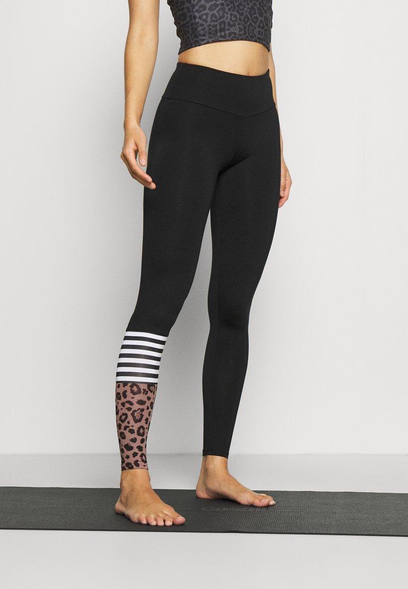 Hey Honey - LEGGINGS SURF STYLE - Leggings - black