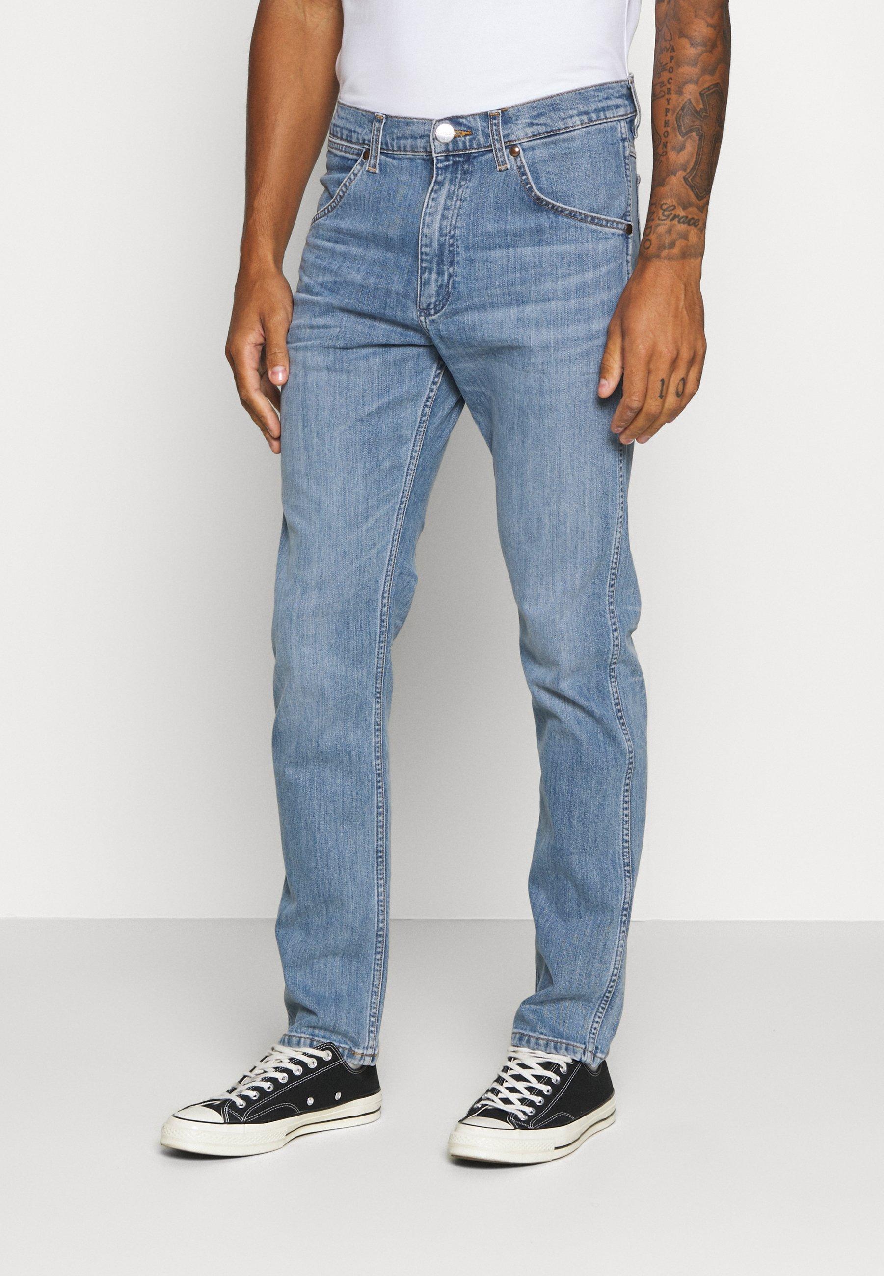 11MWZ Jeans slim fit light blue denim