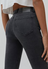 PULL&BEAR - Jeans Skinny Fit - dark grey - 5