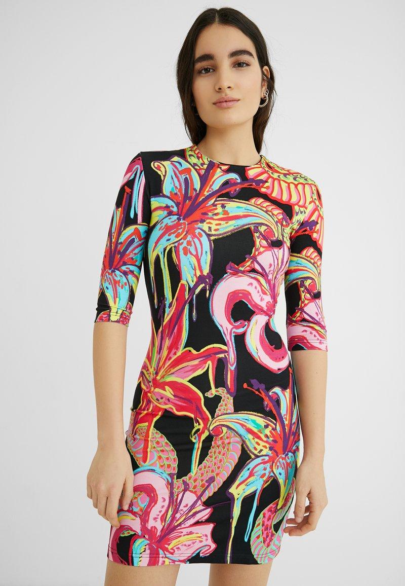 Desigual - DESIGNED BY MARIA ESCOTÉ: - Vestido de punto - multi-coloured
