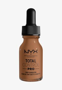 Nyx Professional Makeup - TOTAL CONTROL PRO DROP FOUNDATION - Foundation - mahogony - 0