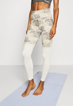 LOTUS HIGH WAIST - Leggings - bone white