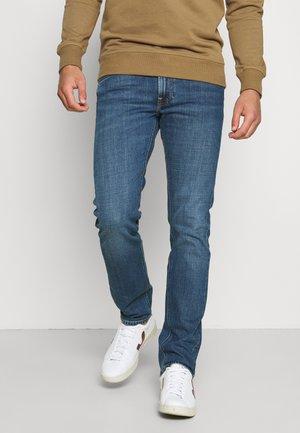 DAREN ZIP FLY - Straight leg jeans - mid woodland