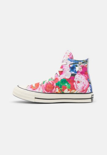 CHUCK 70 HEART OF THE CITY UNISEX - High-top trainers - pink/gravel/egret