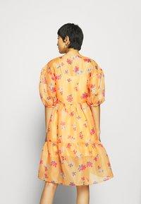 Who What Wear - WRAP DRESS - Day dress - blossom orange - 2