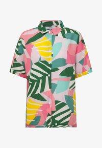 Dedicated - NIBE COLLAGE LEAVES - Skjorte - pink - 4
