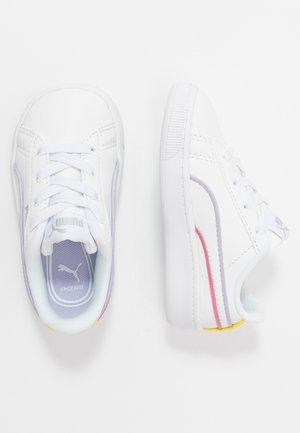 VIKKY - Slip-ins - white/silver/purple heather/bubblegum/sunny lime