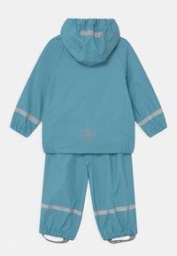 Color Kids - SET SOLID UNISEX - Vodotěsná bunda - delphinium blue - 1