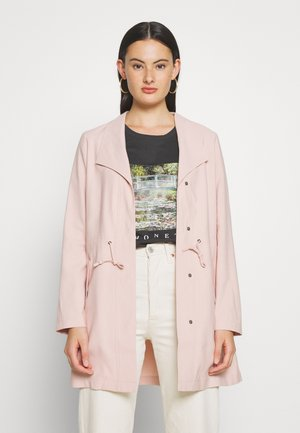 ONLSILLE DRAPY - Short coat - misty rose
