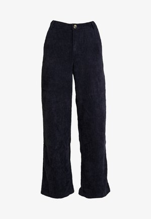 YASSUSSI WIDE PANT - Kalhoty - dark sapphire