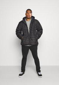 Only & Sons - ONSPAUL HOOD JACKET - Light jacket - black - 1