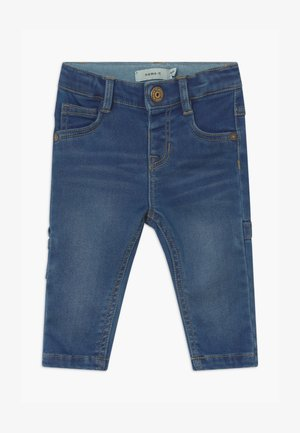 NBMSOFUS DNMATORA BABY - Broek - medium blue denim