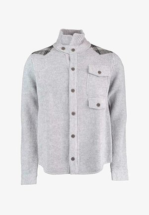 Cardigan - light grey melee