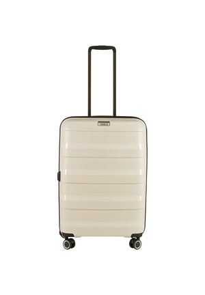 STRAW 66 CM - Wheeled suitcase - beige