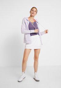 adidas Performance - CLUB HOODIE - Hettejakke - purple - 1