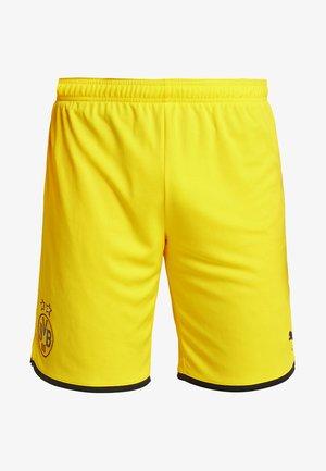 BVB BORUSSIA DORTMUND SHORTS REPLICA - Krótkie spodenki sportowe - cyber yellow/black