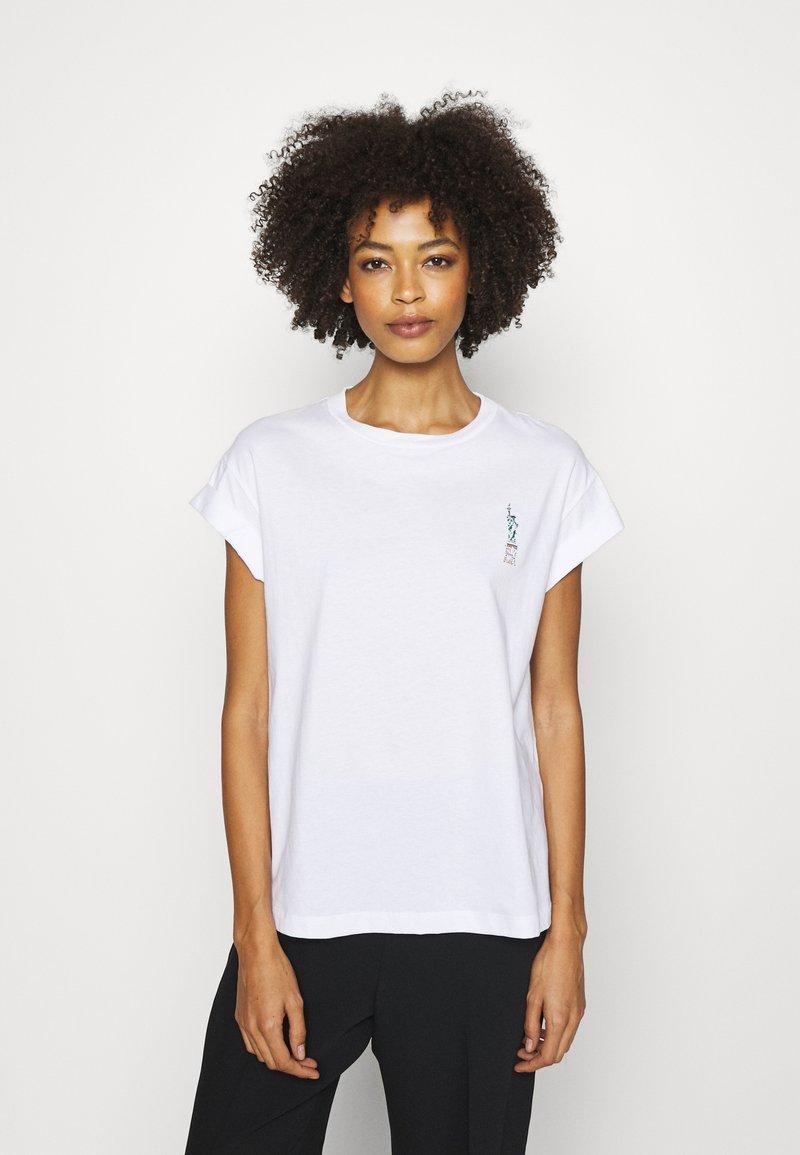 Rich & Royal - Print T-shirt - white