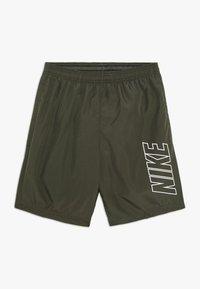 Nike Performance - DRY ACADEMY SHORT - Pantaloncini sportivi - khaki/white - 0