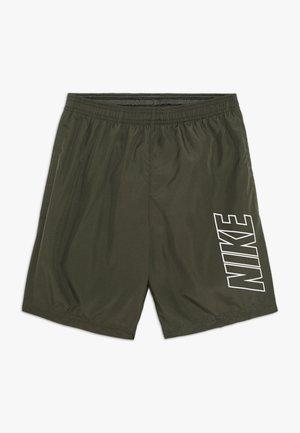 DRY ACADEMY SHORT - Pantaloncini sportivi - khaki/white