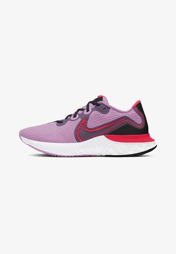 RENEW RUN - Zapatillas de running neutras - beyond pink/black/flash crimson