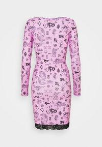 NEW girl ORDER - SYMBOLS DRESS - Day dress - pink - 1