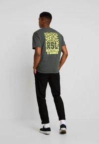 Replay Sportlab - T-shirt con stampa - dark green - 2