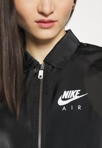 Nike Sportswear - AIR SHEEN - Summer jacket - black/white - 5