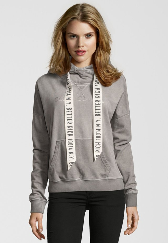 BOXY  - Sweat à capuche - grey