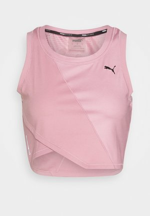 STUDIO CROP - Camiseta de deporte - foxglove