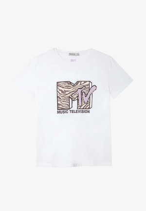 MTV - Print T-shirt - white