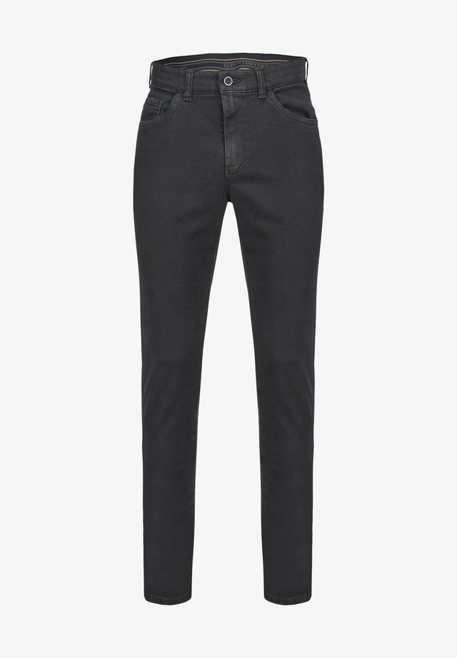 Slim fit jeans - dunkelgrau 2