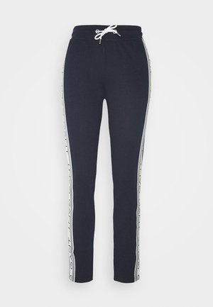 STRIPES PANTS - Trainingsbroek - evening blue
