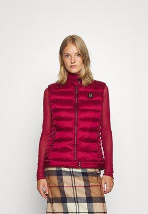 DREW GILET - Waistcoat - biking red