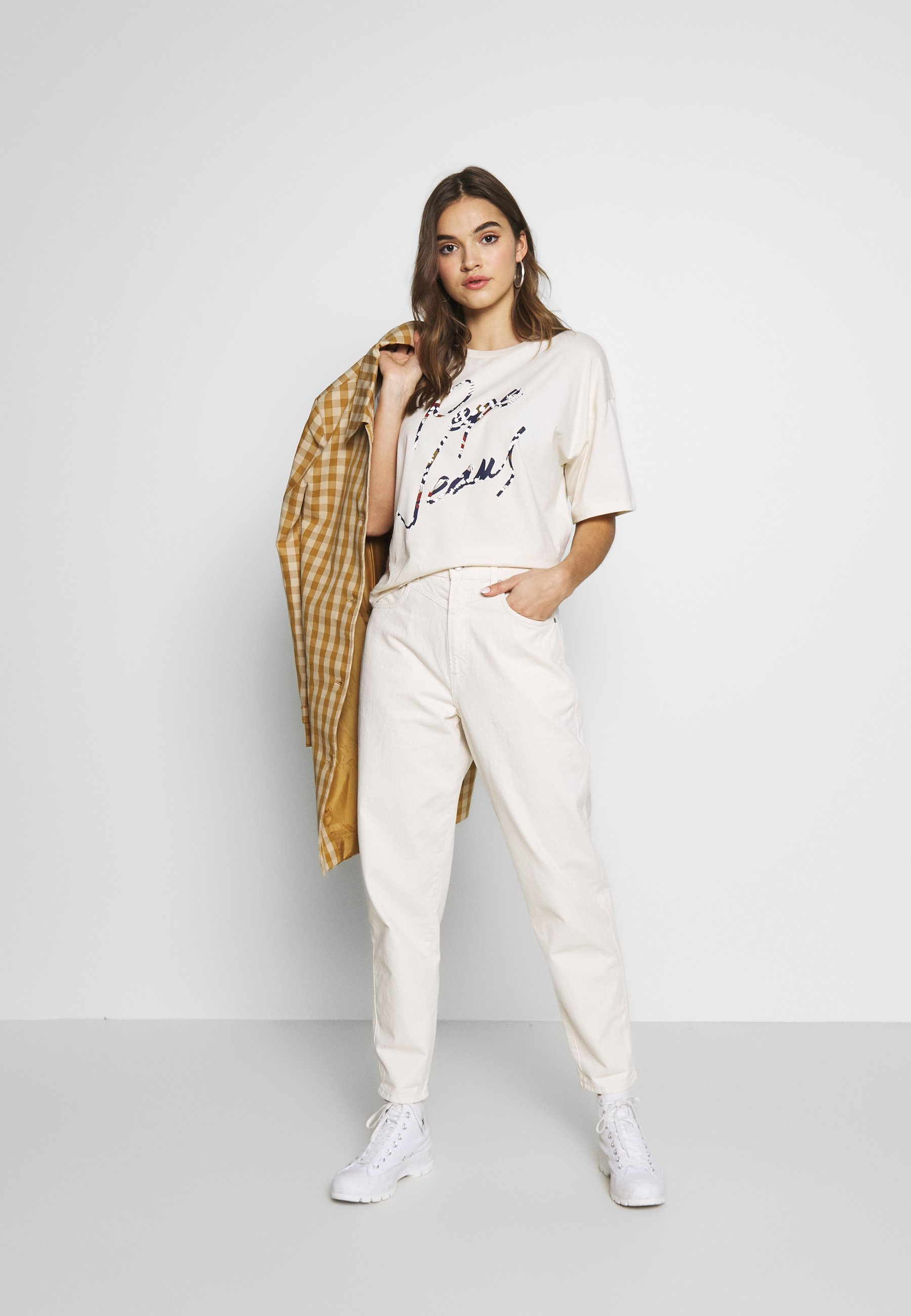 Pepe Jeans RACHEL - Jeans relaxed fit - champagne