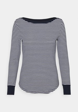 Camiseta de manga larga - french navy/white