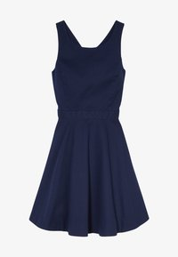 Polo Ralph Lauren - SOLID CROSS DRESSES - Day dress - french navy - 3