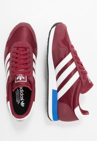 adidas Originals - USA 84 - Trainers - core burgundy/footwear white/blue - 1