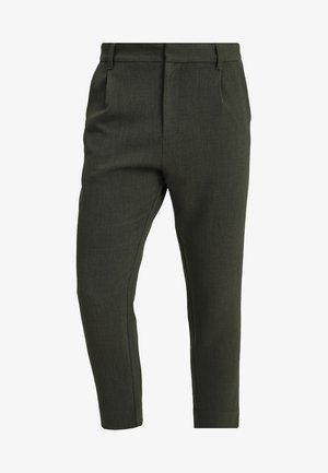MARD TROUSERS - Kalhoty - khaki melange