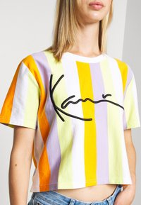 Karl Kani - SIGNATURE - Print T-shirt - white - 5