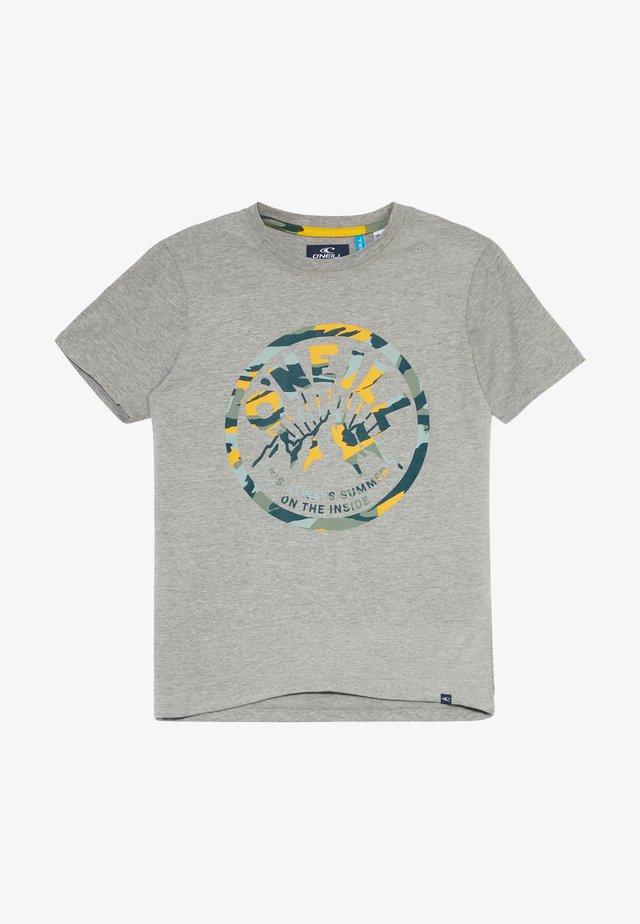 T-shirt imprimé - silver melee