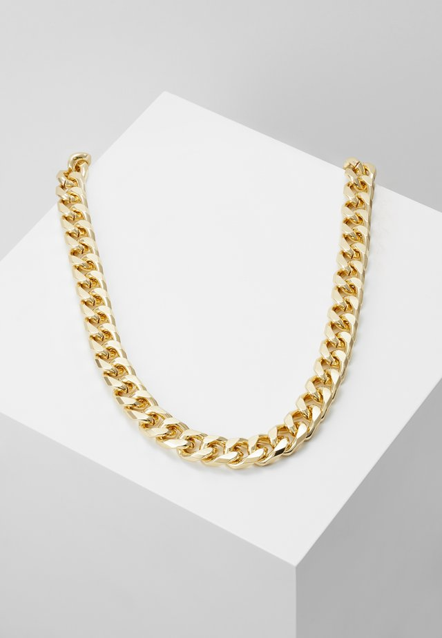 THICK CHAIN - Náhrdelník - gold-coloured