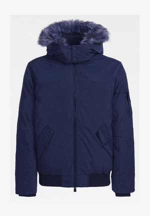 Giacca invernale - mehrfarbig, grundton blau