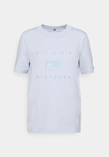 TONAL TEE  - Print T-shirt - breezy blue
