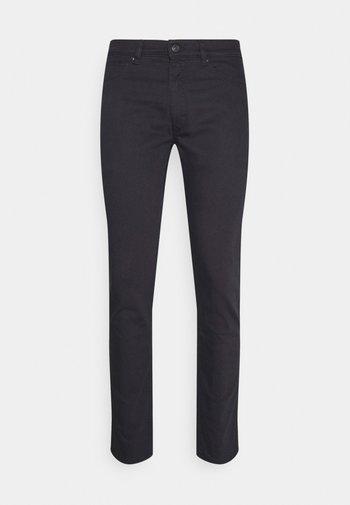 Straight leg -farkut - dark grey