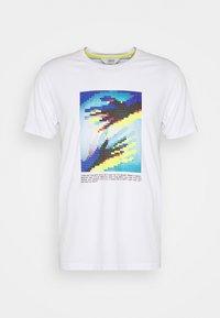 Solid - Print T-shirt - white - 4