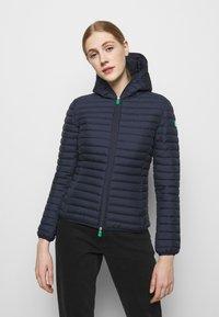 Save the duck - ELLA HOODED JACKET - Light jacket - navy blue - 0