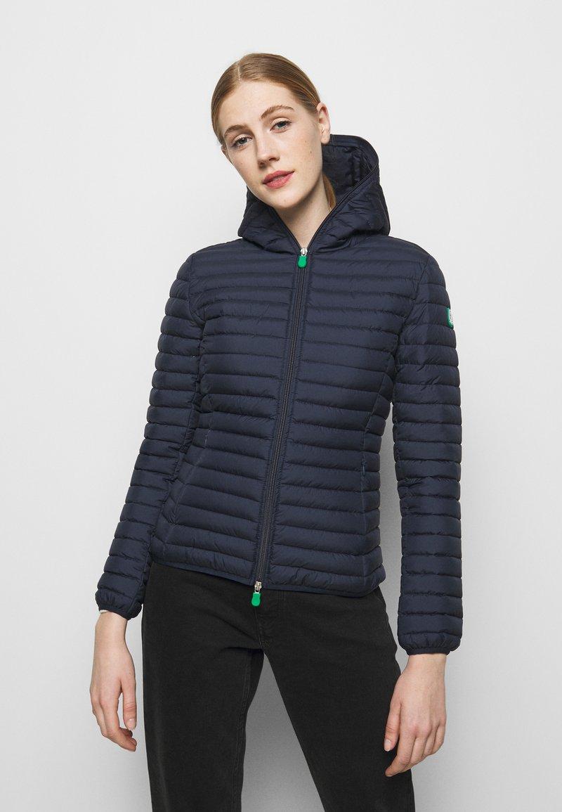 Save the duck - ELLA HOODED JACKET - Light jacket - navy blue