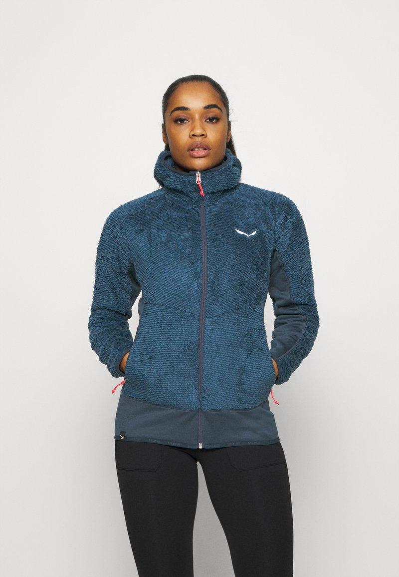 Salewa - TOGNAZZA - Fleece jacket - dark denim melange